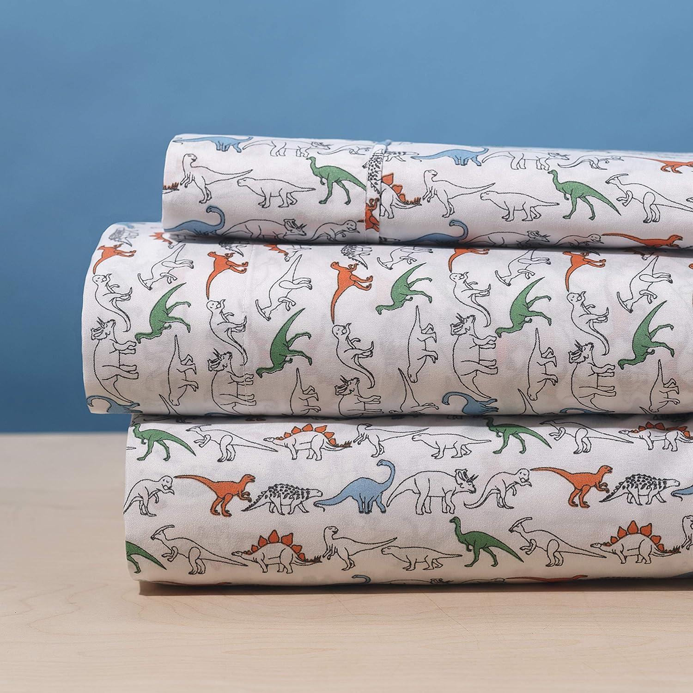 Elegant Home White Orange Green Park Design Jurassic Popular overseas Limited time for free shipping Dinosaurs 3