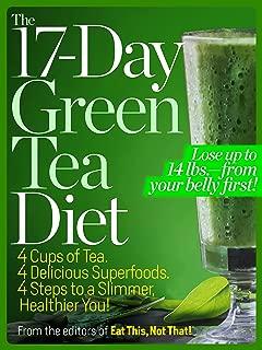 Best green tea diet plan 17 day Reviews