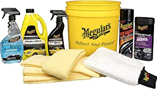 MEGUIAR'S G55146 Essential All in One Car Care Kit