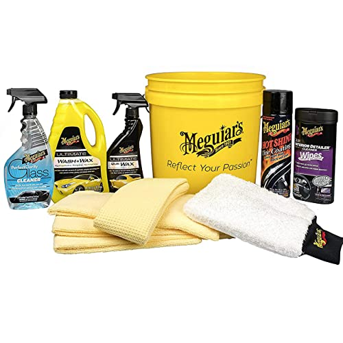 MEGUIAR'S G55146 All in One Essentials Car Care Kit