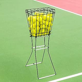 Vermont Tennis Ball Hopper Basket [72 Ball Capacity] - Steel Frame & Lockable Lid