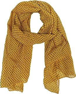 Zwillingsherz Seiden-Tuch im trendigem Design - Hochwertiger Schal für Damen Mädchen - Halstuch - Umschlagstuch – Pashmina - Loop - weicher Schlauchschal für Frühjahr Sommer Herbst Winter
