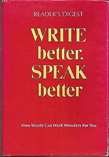 Best speak better, write better Reviews