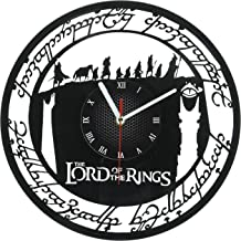 LORD of the RINGS STAR WARS Handmade Vinyl Record Wall Clock - Get unique home room wall decor - Gift ideas for parents, teens – Epic Movie Unique Modern Art