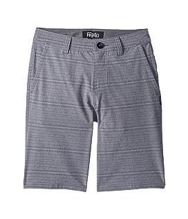Locked Stripe Hybrid Shorts (Big Kids)