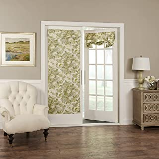 """WAVERLY Room Darkening Curtains for French Door - Spring Bling 26"""" x 68"""" Thermal Insulated Single Panel Glass Door/Patio D..."""