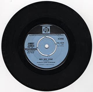 Jimmy James - Red Red Wine / Who Could Be Loving You - 7