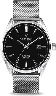 Sponsored Ad - Vincero Luxury Men's Kairos Wrist Watch - 42mm Analog Watch - Japanese Quartz Movement…