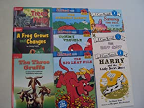 Book Sets : Level 1 Reading Books : Clifford the Big Red Dog - The Three Gruffs - Sammy the Seal - Harry and the Lady Next Door - Tummy Trouble - (An Unofficial Box Set - Step 1 Books)