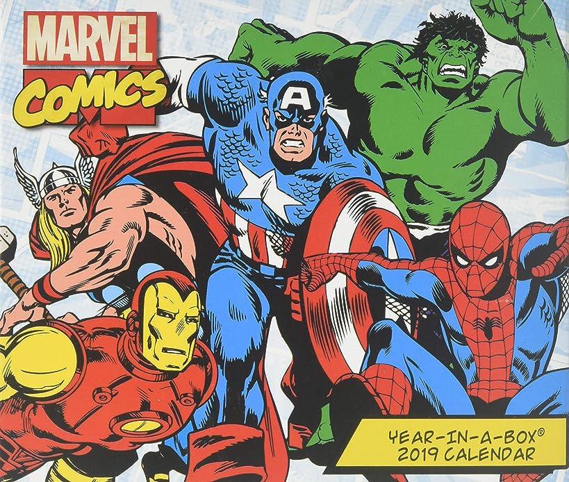 History of Marvel 2019 Calendar