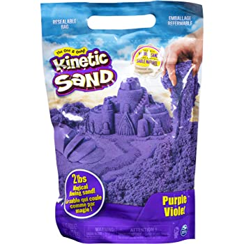 Kinetic Sand The Original Moldable Sensory Play Sand, Purple, 2 Pounds