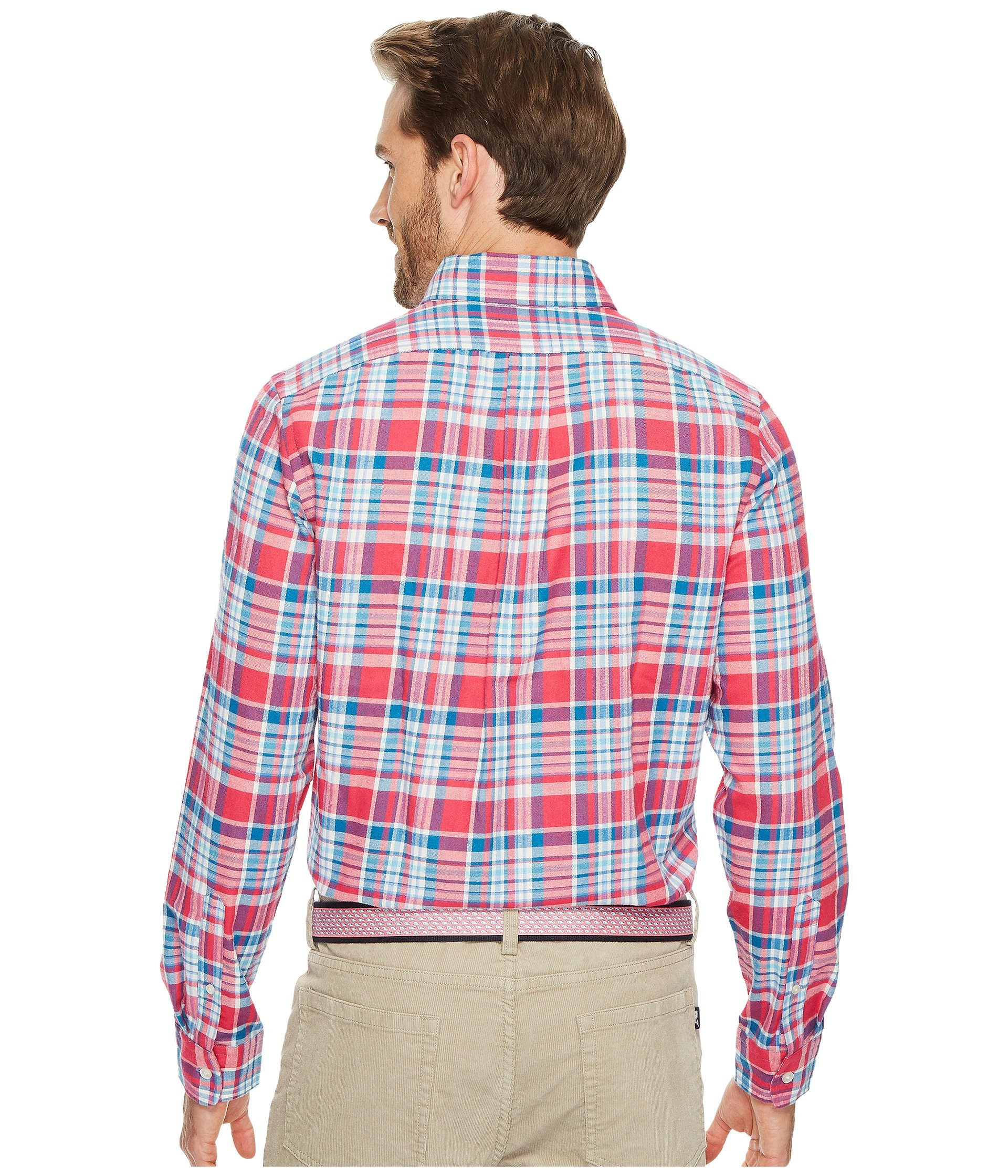 Vineyard vines middleton place performance plaid flannel for Places to buy flannel shirts