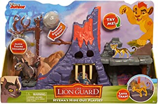 Just Play Disney Junior The Lion Guard Hyena's Hideout Playset (with Janja Figure)