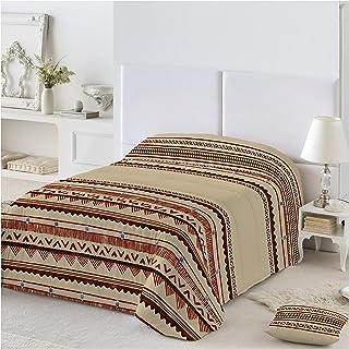 46db0dd52cf COTTON ART - funda Nordica Modelo INDIAN CALDERA cama de 180 ( 260 x260 cm  ) + 2 FUNDAS DE ALMOHADA (45X110cm) ALGODÓN 100% Disponible para cama de 90  105 ...