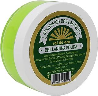 SOL DE ORO Brilliantine Solid Hair Dressing 2 oz Brillantina Solida