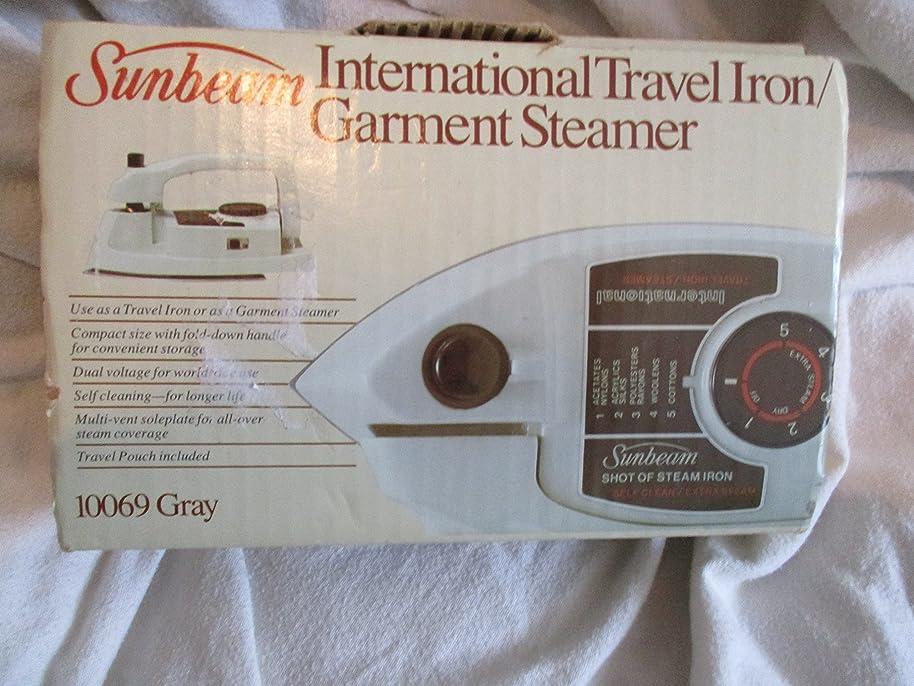 Sunbeam Internation Travel Iron/garmet Steamer qourazyz7550