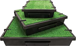 PetSafe Pet Loo Portable Indoor/Outdoor Dog Potty, Alternative to Puppy Pads, 3 Size Options for Small, Medium and Large Breeds