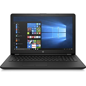 "HP Notebook 15-bs040ns - Ordenador Portátil HD, Intel Core i3-6006U, 4 GB RAM, 500 GB HDD, Intel HD Graphcis 620, Windows 10, Negro, 15.6"" - Teclado QWERTY Español"