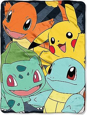 Pokemon fore Friends Pikachu Super Soft Fleece Blanket