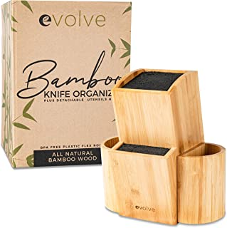 kyocera bamboo knife block