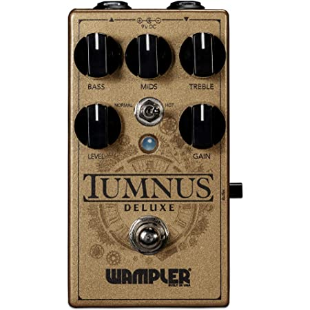 Wampler Tumnus Deluxe Overdrive & Boost Guitar Effects Pedal