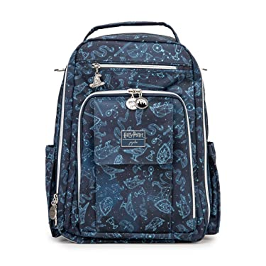 JuJuBe   Mini Be Right Back Travel Backpack with Pocket Organization   for Kids and Adults   Harry Potter   Lumos Maxima