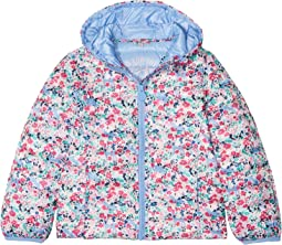 Joules Kids Floral Printed Packable Coat (Toddler/Little Kids)