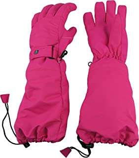 N'Ice Caps Little Kids 100 Gram Thinsulate Elbow Length Waterproof Snow Gloves