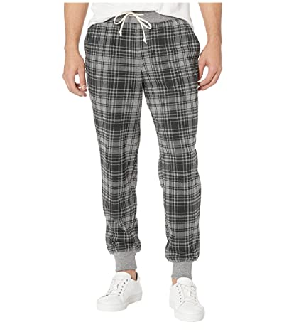 Alternative Dodgeball Eco Fleece Pants (Grey Cabin Plaid) Men