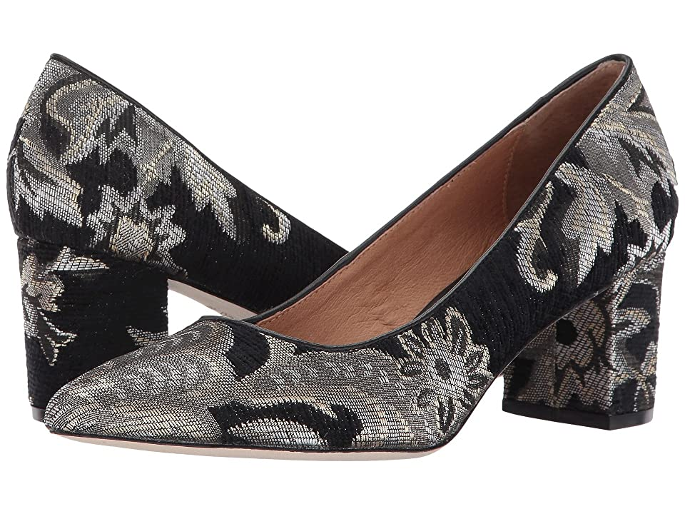 CC Corso Como Regina (Black Metallic Brocade) Women