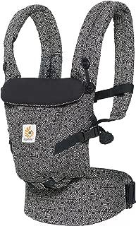 Ergobaby Adapt Award Winning Ergonomic Multi-Position Baby Carrier, Newborn to Toddler, Special Edition Keith Haring , Black