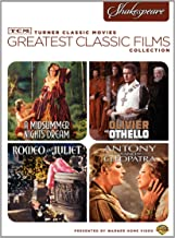 TCM Greatest Classic Films Collection - Shakespeare: (A Midsummer Night's Dream / Othello / Romeo and Juliet / Antony and Cleopatra)