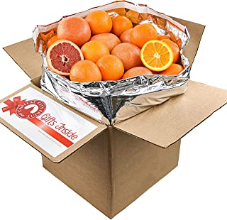 Gourmet Fruit Gift Pack, (20lbs) Mixed Citrus Box with Oranges and Grapefruit (30 pieces) Loaded with Immun...