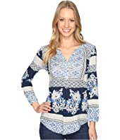 Lucky Brand - Printed Knit Top