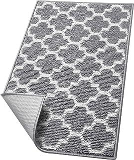 """WiseLife Door Mat Indoor Outdoor Floor Mat,20""""x32"""", Non-Slip Absorbent Front Back Doormat Entryway Rugs, Low Profile Resis..."""
