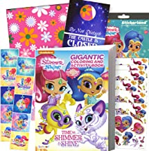 shimmer and shine coloring books