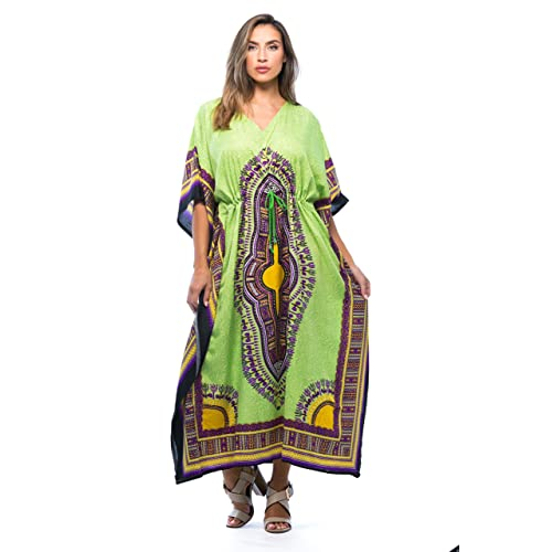 e8944594788 Riviera Sun African Print Dashiki Maxi Caftan for Women