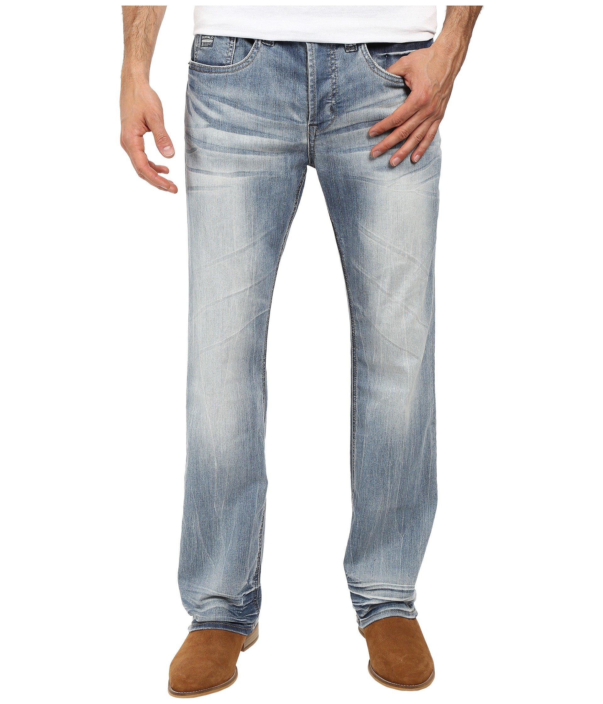 9716bc4a Heavy Sandblasted. 44. Buffalo David Bitton. King Slim Boot Cut Jeans ...