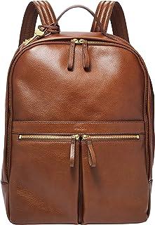 Fossil Women's Tess Leather Laptop Backpack Handbag