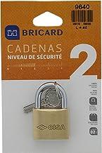 BRICARD 9640 hangslot Securite messing 40 mm