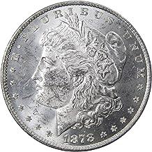 1878 8TF $1 Morgan Silver Dollar Coin BU Uncirculated Mint State