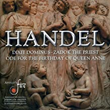 """Best Ode for the Birthday of Queen Anne, """"Eternal Source of Light Divine"""", HWV 74: The Day That Gave Greart Anna Birth (Air and Chorus) (II) Review"""