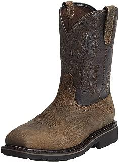 Men's Sierra Wide Square Toe Steel Toe Puncture Resistant Work Boot