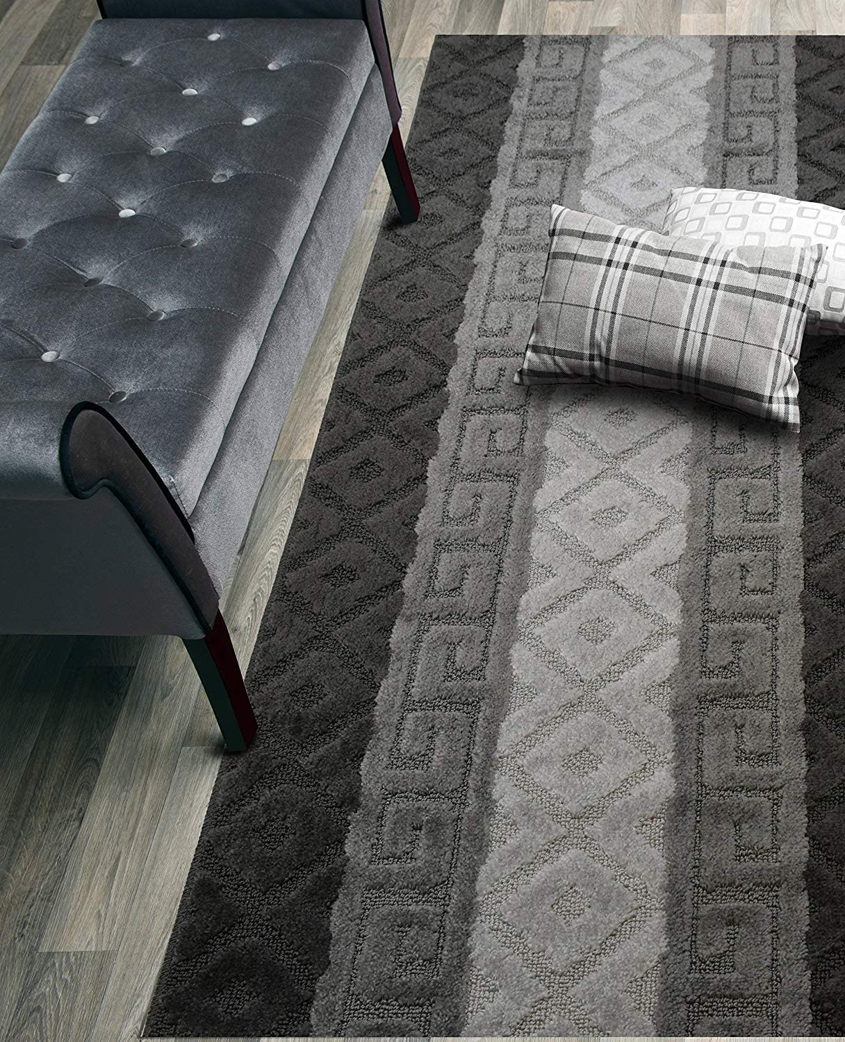 San Jose Mall Custom SEAL limited product Size Hallway Runner Rug Slip Resistant Y X Inch 26 Wide