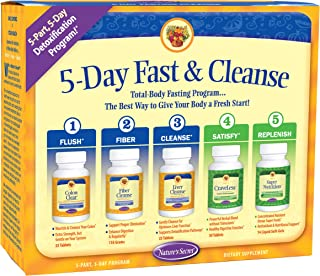5-Day Fast & Cleanse by Nature's Secret | 5 Day, 5 Part Program