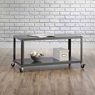 Best industrial coffee table with casters Reviews