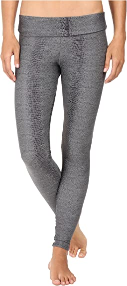 Charcoal Snake High-Rise Leggings