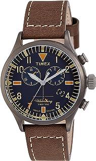 TW2P84100 Timex Waterbury Chronograph Mens Analog Blue Casual Quartz Timex