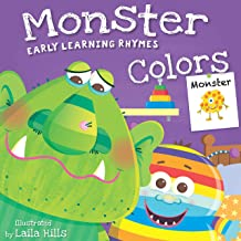 Early Learning Rhymes Monster Colors (Board Book)