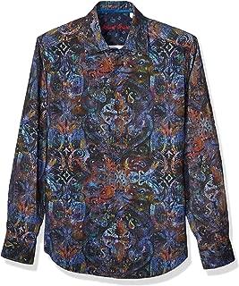 Robert Graham Men's Lucy Diamond L/S Woven Shirt
